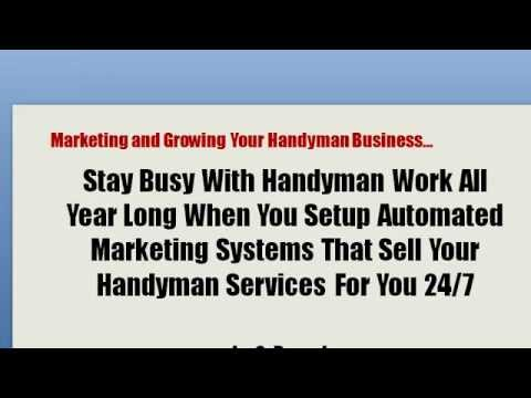 Handyman Marketing and Advertising Systems to Get More Handyman Work