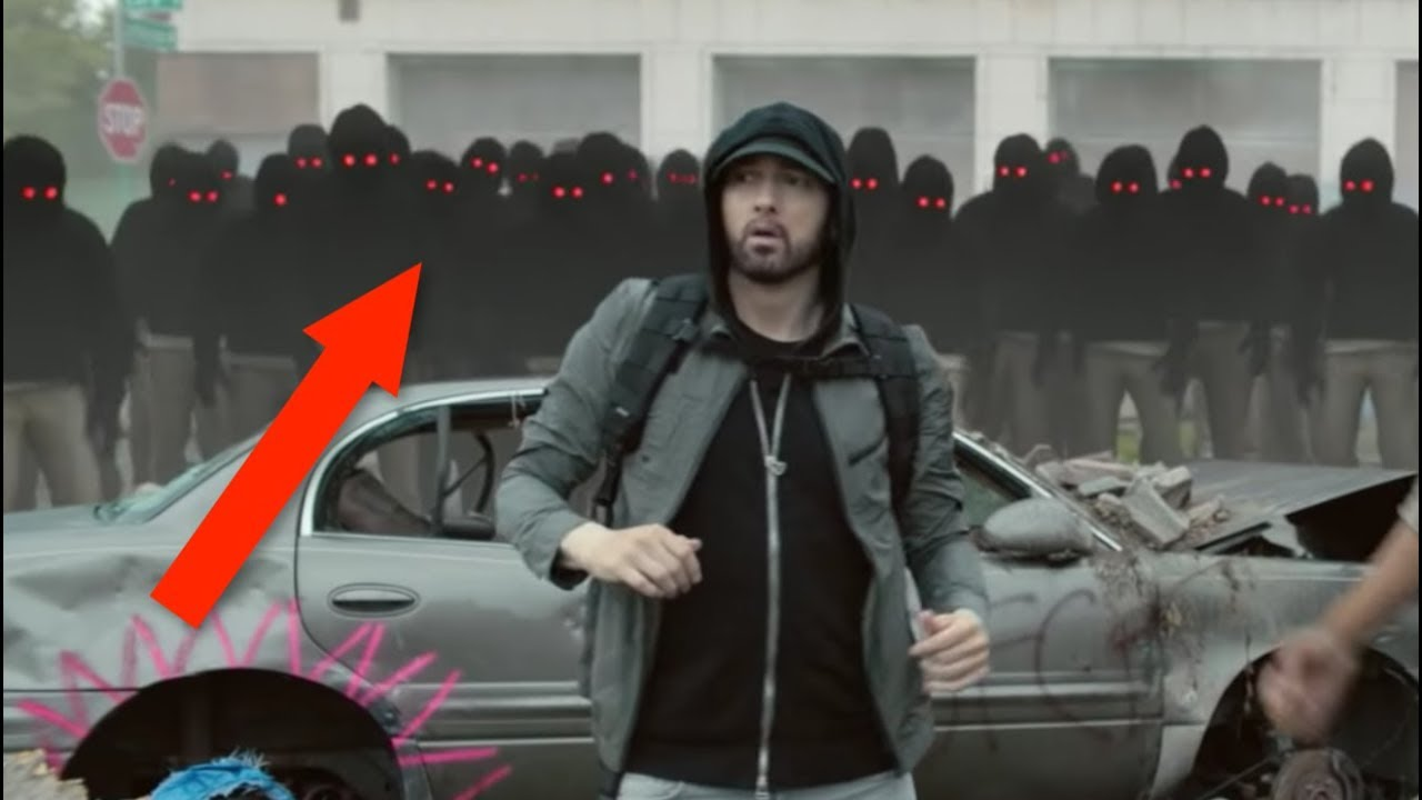 EMINEM IS LETTING EVERYONE KNOW THAT HE IS DEMON POSSESSED...