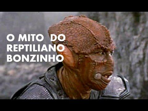 Fábio Del Santoro - O mito do Reptiliano bonzinho - YouTube