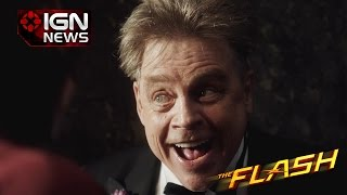 mark hamill appears as the trickster in new flash trailer ign news