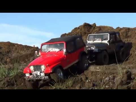Duo Jeep CJ7 & YJ soft top