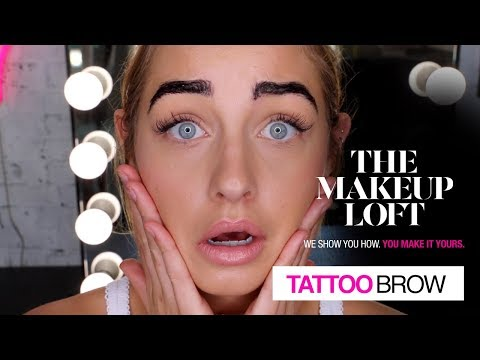 TATTOO BROW: Filled Brows for up to 3 days | Sammy Robinson | The Makeup Loft | Maybelline New York