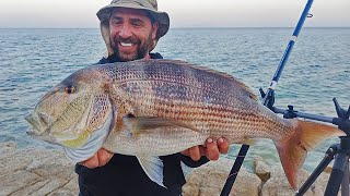 "HEAVY CASTING ✔️ Άλλαξα τόπο και ""ΠΗΡΑ"" ψάρι | ΜΕΓΑΛΗ  ΣΥΝΑΓΡΙΔΑ στο 90 !!! ΨΑΡΕΜΑ - ZAVRAS FISHING."