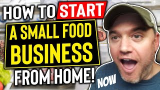 How to Sell Food From home [ How to Start a small food business from home] 10 Steps