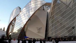 Arrivées Inauguration Fondation Louis VUITTON Lundi 20 octobre 2014