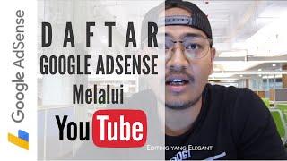 CARA DAFTAR GOOGLE ADSENSE 100% Full Approved thumbnail