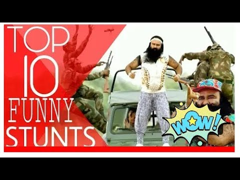 TOP 10 Funny Stunts 😂😂😂 by RAM RAHIM SINGH._HD