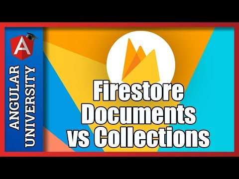 💥 The Firestore NoSQL Database - Documents and Collections