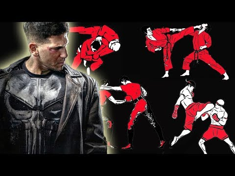 How Many Fighting Styles Does The Punisher Know In Marvel's The Punisher Netflix Series?