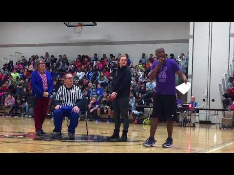 Chas Schaner Retiring Pinewood Middle School Presentation Performance Dec  6 2017
