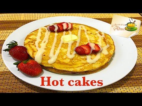 Hot cakes o Pancakes caseros 🥞