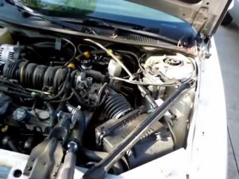 2003 Buick Regal LS MAF Sensor and Engine Coolant Temperature Sensor Location  YouTube