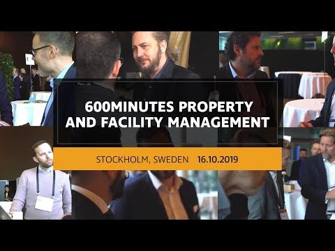 600Minutes Property and Facility Management 2019 in Stockholm, Sweden