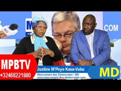 RDC:Reynders interpellé au Parlement Belge-Kabila 3eMandat illégal-J.Kasa-Vubu précise les Enjeux