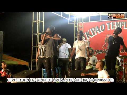 RÉVOLUTION EN CONCERT LIVE A L'ESPACE OKPAO (02/05/2015)