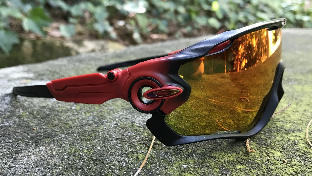 Oakley Jawbreaker Prizm >> Oakley Jawbreaker Prizm Ruby Fade Collection in Action - YouTube
