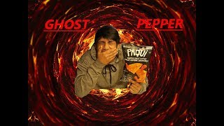 SPICY GHOST PEPPER CHIP CHALLENGE!!!