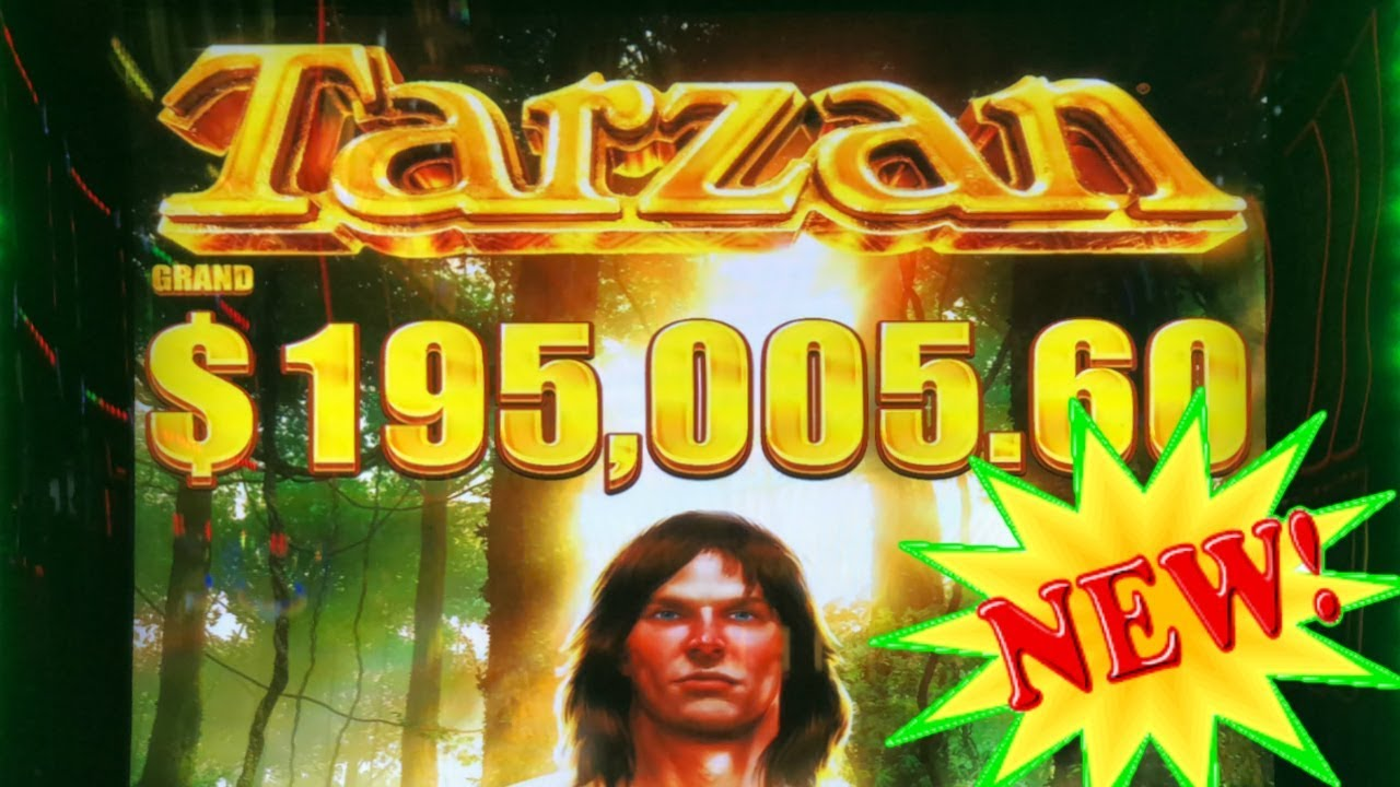 Tarzan Slot Machine