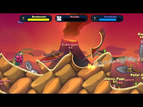 Today I Played Worms Reloaded 07 21 12 Feat  Ricklldo Gambernaut GAME 2 PART 1 READY FOR UPLOAD 00 00 00 |