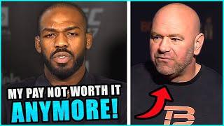 Jon Jones reveals that he will be VACATING the UFC light heavyweight title, Dana White responds