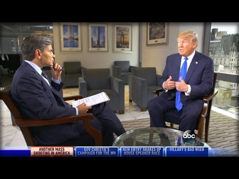 ABC IS OVER: WATCH TRUMP END GEORGE STEPHANOPOULOS'S CAREER WITH 7 WORDS…