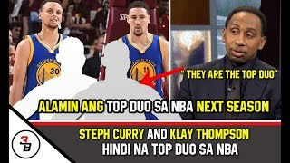 STEPH CURRY AND KLAY THOMPSON HINDI ANG TOP DUO SA NBA Video
