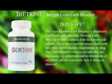 How To Lose Weight With Dietrine Carb Blocker Review Youtube