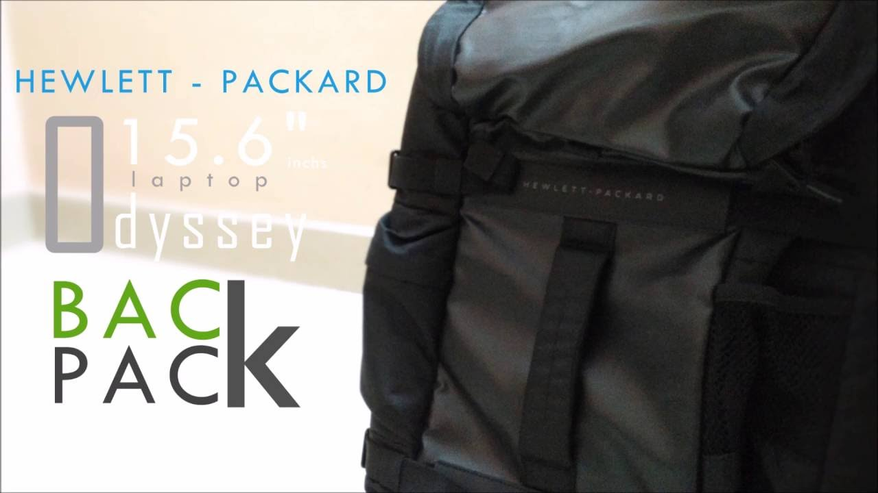 "HP Odyssey 15.6""inchs laptop Backpack"