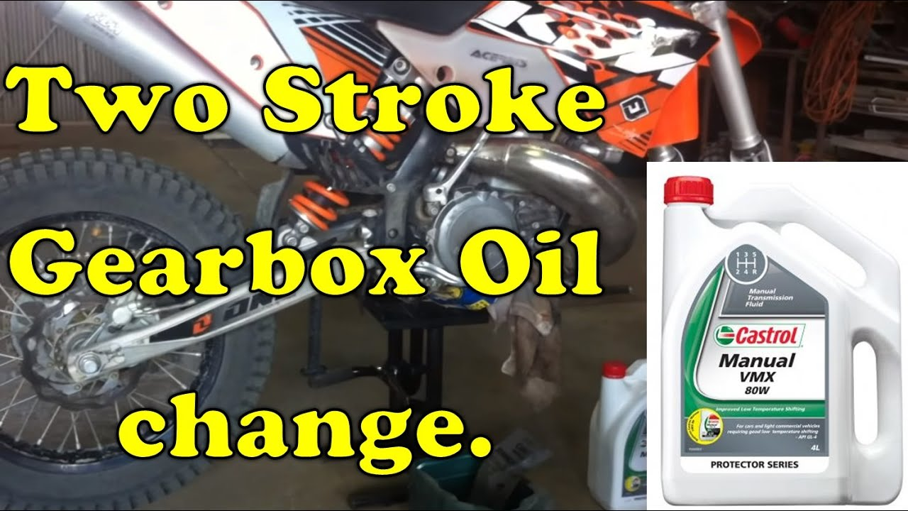 How To Change The Gearbox Oil In A 2 Stroke