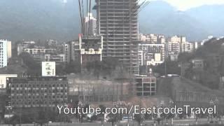 Yangtze River cable car crossing Chongqing