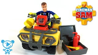 Fireman Sam Mercury Car Toys Cartoon Toys Review 4K for Kids