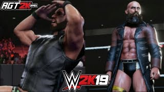 WWE 2K19 ONLINE - Johnny Gargano vs.Tommaso Ciampa (Extreme Rules 2-out-of-3 Falls Match Highlights)