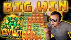 """SUPER BIG WIN - """"Super Free Spins"""" on Contact Slot!"""