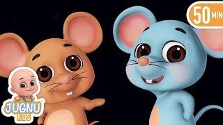 Do Chuhe The | दो चूहे थे | hindi poem | hindi rhymes for children - jugnu Kids