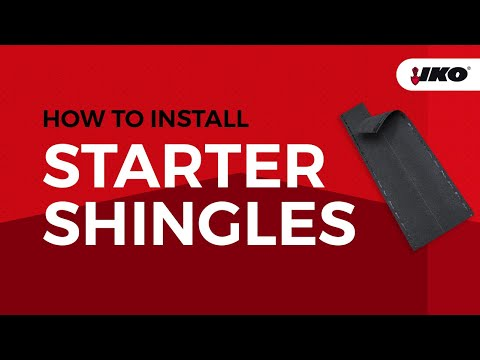 Getting The Right Start With Shingle Starter Strips Youtube