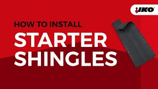 How to Install Starter Strip Shingles - Get the Right Start