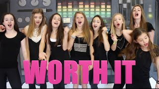 WORTH IT - Fifth Harmony ft. Kid Ink(This video was produced, directed, filmed & edited by Mikaela Happas. Follow Me & Subscribe! @MikaelaHappas STARRING: Mikaela Happas Nikki Smith ..., 2015-05-03T04:10:29.000Z)