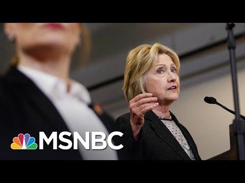 Clinton Slams Donald Trump On The Economy   MSNBC