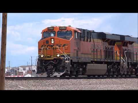 BNSF Sand/Cement Train - Colorado - Front Range Subdivision