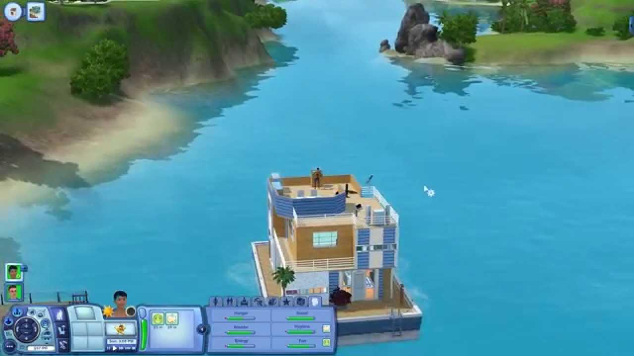 Sims  Island Paradise Items