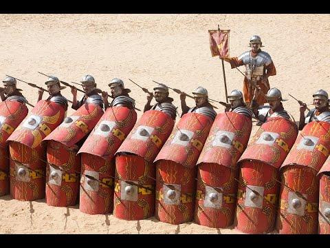 Ancient Roman Shields - YouTube
