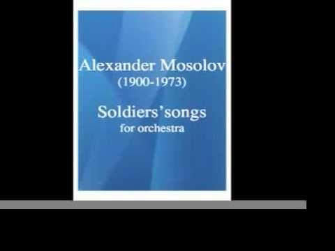 Pdf alexander mosolov