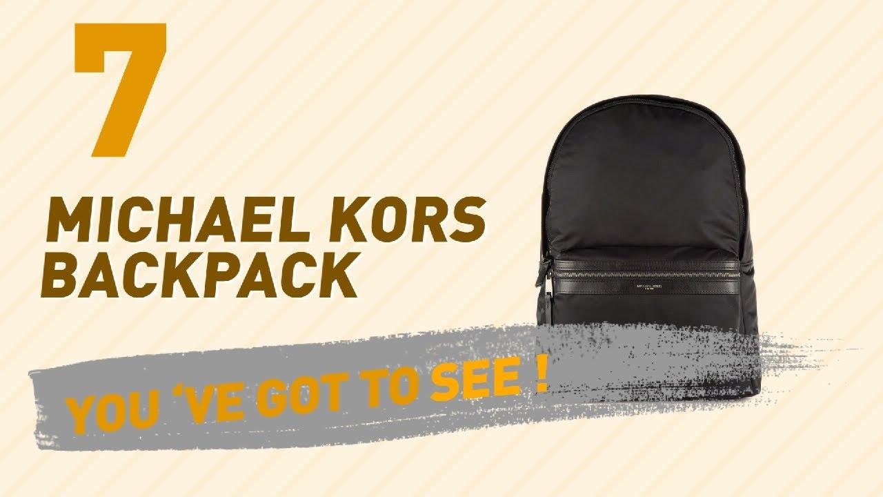 baddec92d441 Michael Kors Backpack, Best Sellers Collection // Men's Fashion ...