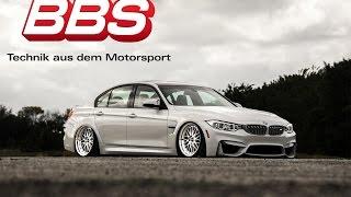 BMW F80 M3 on AirLiftPerformance Bags    BBS Wheels    CBRMEDIA