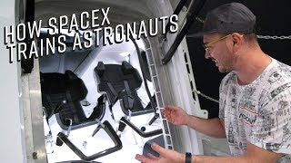 Inside SpaceX's Crew Dragon Capsule and HQ!!!