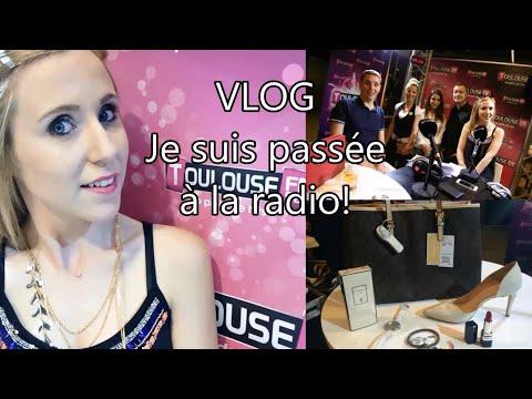Chroniqueuse radio sur Toulouse FM | VLOG