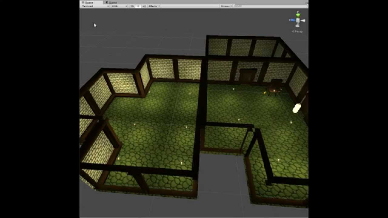 Unity 3d modular room build edit youtube for Make a 3d room