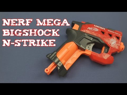 (Review) Nerf Mega BigShock N-Strike