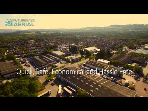 Commercial roof survey by drone