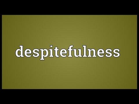 Header of despitefulness